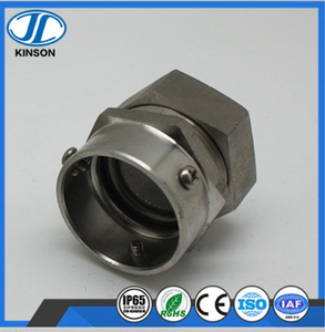 DKJ Type stainless steel Flexible conduit sleeve style union