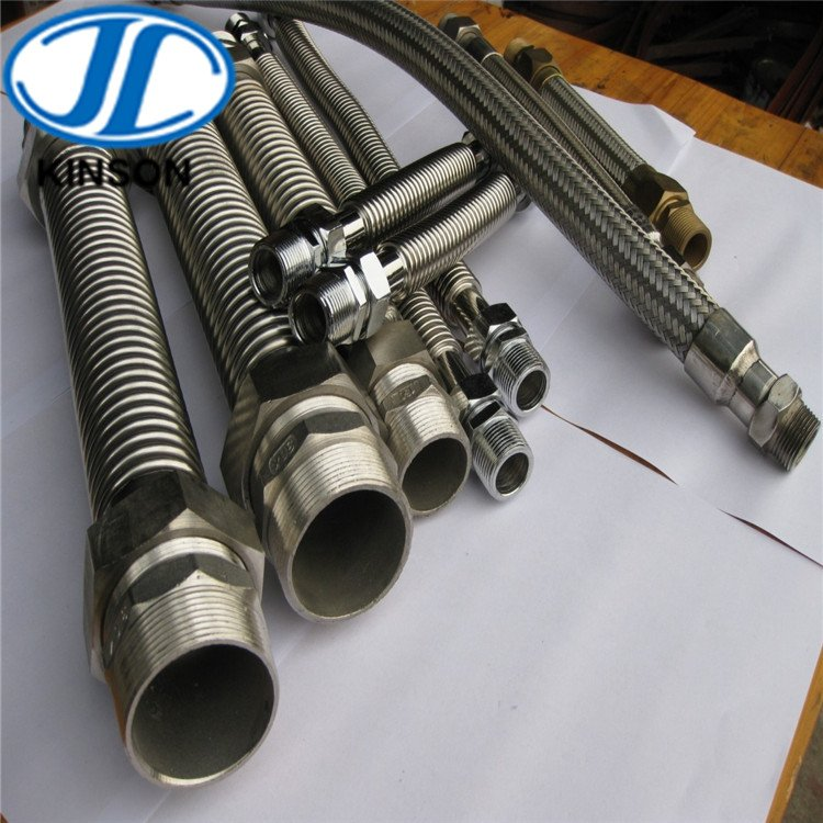Stainless steel corrugated flexible pipe