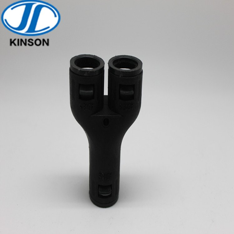 3-Way Y flexible pipe connector