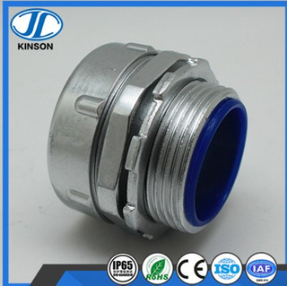 DPJ end style union fitting for flexible conduit